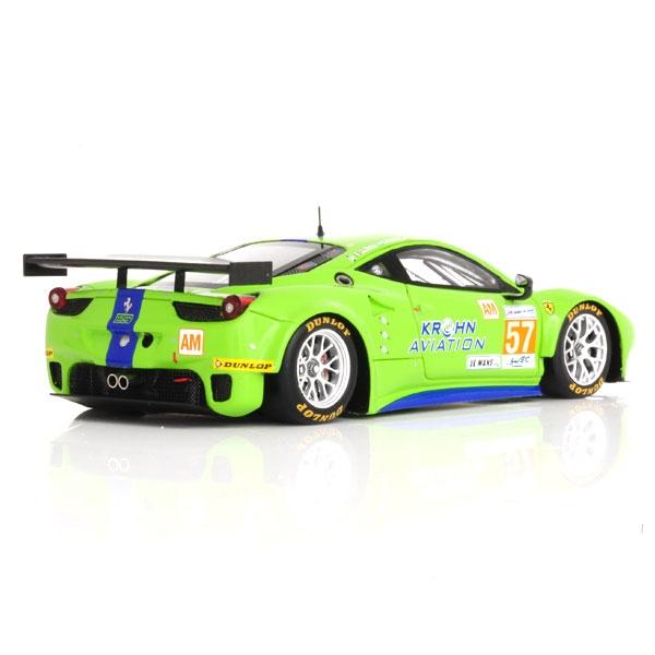 Modellino Ferrari 458 Italia GTE 24 Ore Le Mans 2012