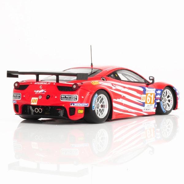 FERRARI 458 ITALIA GTE AM #61 TEAM LUXURY RACING 24H LE
