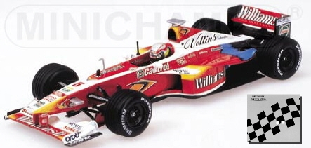 Williams Supertec Fw21 Zanardi 1999 Pma 1:43 Neutral Box 433990005 Modellino