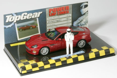 2004-Red Metallic Minichamps 1:43 Aston Martin Vanquish S