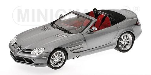 Mercedes Benz Slr Mclaren Roadster 2007 Grey Metallic
