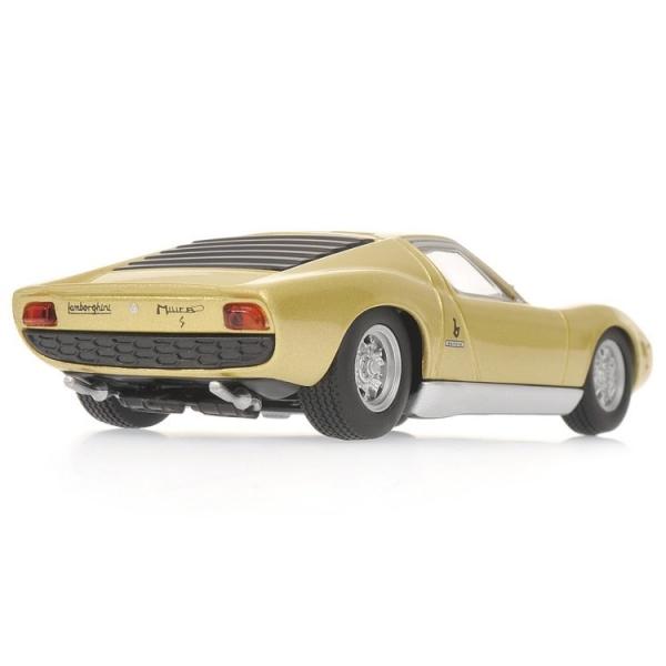 Lamborghini Miura S 1969 Gold Lamborghini Museum Shockmodel Com