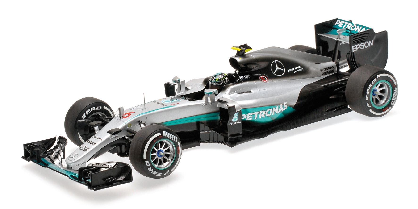 Mercedes amg w07 hybrid nico rosberg world champion for Mercedes benz f1 shop