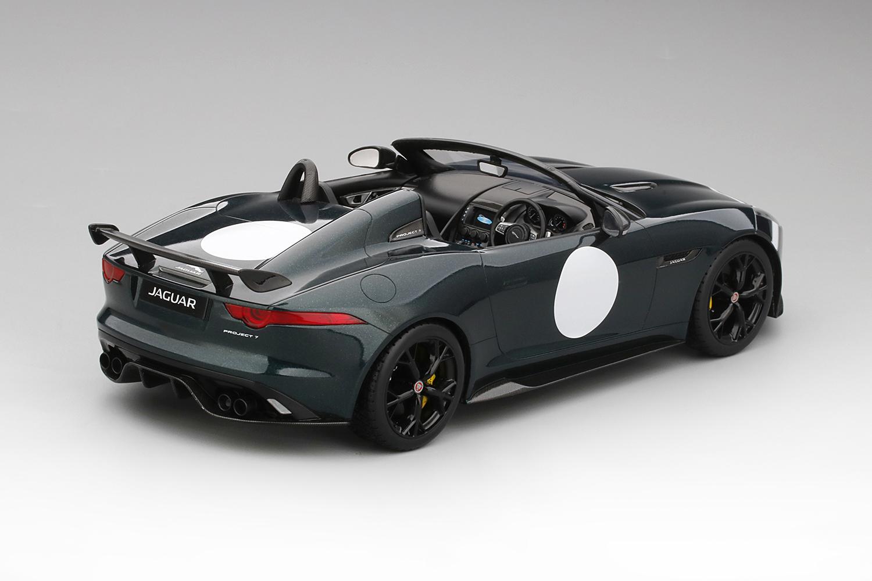 Jaguar F Type Project 7 British Racing Green Top Speed Shockmodel Com