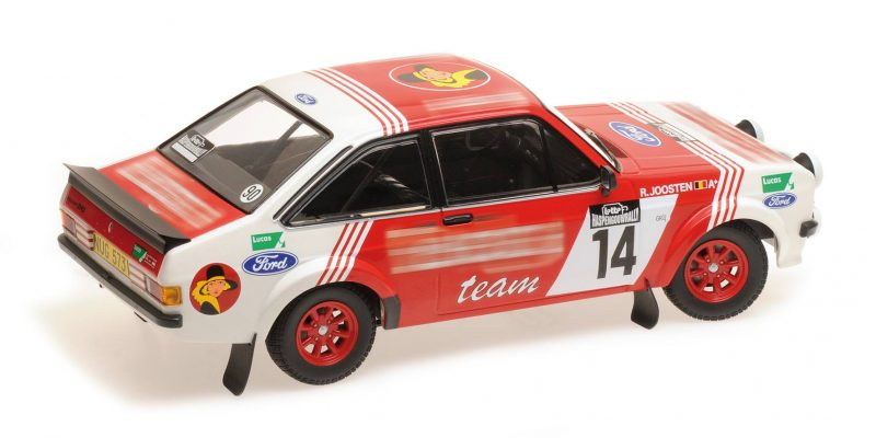 Ford Escort Rs 1800 Lotto Haspengouw Rally 1983 MINICHAMPS 1:18 155838714 Model
