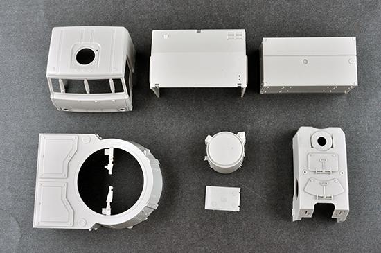 1//35 TRUMPETER RUSSIAN 72V6E4 96K6 PANTSIR-S1 ADMGS TR01061