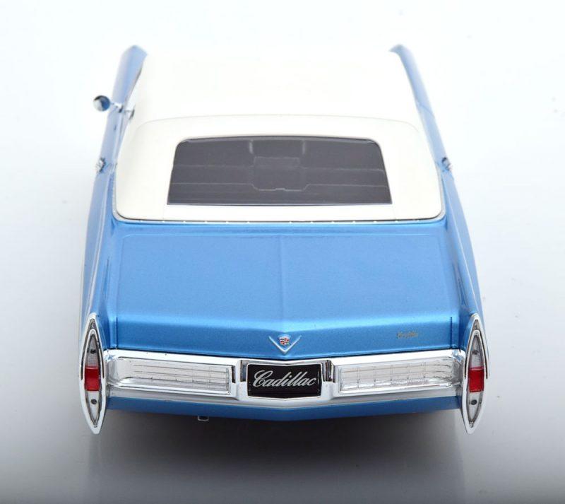 CADILLAC DEVILLE SOFT-TOP BLUE METALLIC 1968