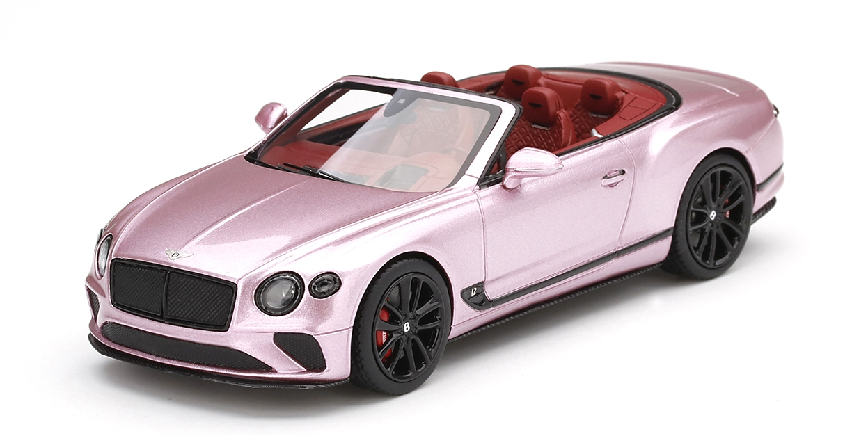 Bentley Continental Gt Convertible Passion Pink Shockmodel Com